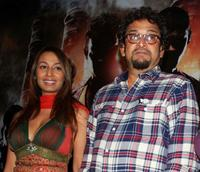 Kashmira Shah and Mahesh Manjrekar at the unveiling of the first look and Web site for