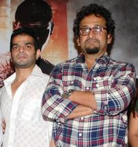 Karan Patel and Mahesh Manjrekar at the unveiling of the first look and Web site for