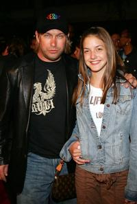 Stephen Baldwin and his daughter at the