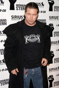 Stephen Baldwin at the luncheon to celebrate the launch of Howard Stern's new Sirius Satellite Radio show.