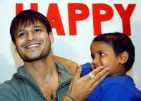 Vivek Oberoi at the eve of