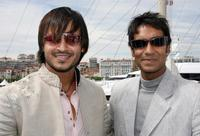 Vivek Oberoi and Ajay Devgan at the 59th edition of the Cannes Film Festival.
