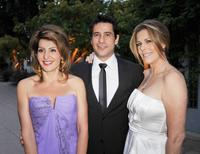 Nia Vardalos, Alexis Georgoulis and Rita Wilson at the premiere of