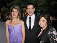 Nia Vardalos, Alexis Georgoulis and Rachel Dratch at the premiere of