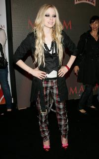 Avril Lavigne at the Maxim Magazine's 8th Annual Hot 100 Party.