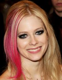 Avril Lavigne at the World Music Awards 2007.