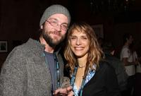 Steven Schardt and Lynn Shelton at the 2009 Sundance Film Festival.