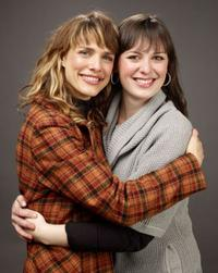 Lynn Shelton and Alycia Delmore at the 2009 Sundance Film Festival.