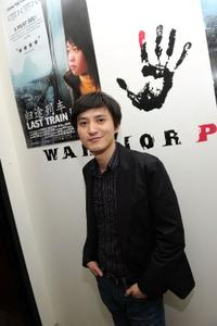 Lixin Fan at the New York premiere party of