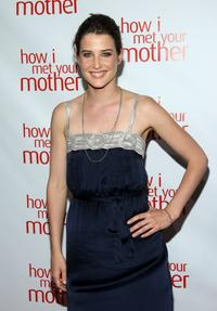 Cobie Smulders at the academy screening of