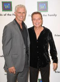 Patrick Cassidy and David Cassidy at the 13th Annual Families Matter benefit celebration.