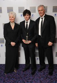 Shirley Jones, Aneurin Barnard and Patrick Cassidy at the Laurence Olivia Awards.