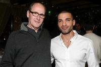 Richard Jenkins and Haaz Sleiman at the 2008 Sundance Film Festival for the dinner of