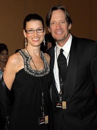 Sam Jenkins and Kevin Sorbo at the Muhammad Ali's Celebrity Fight Night XVII in Phoenix.