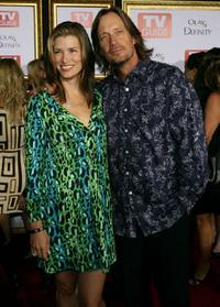 Sam Jenkins and Kevin Sorbo at the TV Guide's 5th Annual Emmy Party.