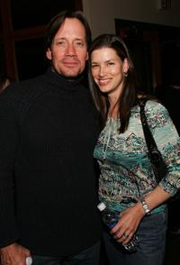Kevin Sorbo and Sam Jenkins at the Gersh Agency Party during the Sundance Film Festival.