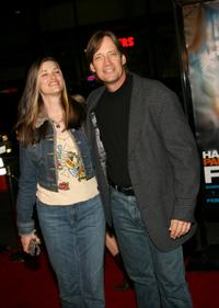 Kevin Sorbo and Sam Jenkins at the premiere of