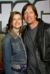 Sam Jenkins and Kevin Sorbo at the premiere of