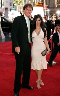 Bruce Jenner and Kim Kardashian at the 2006 ESPY Awards.