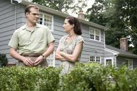 David Harbour as Shep Campbell and Kathryn Hahn as Milly Campbell in
