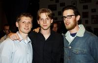 Director Greg Marcks, Stark Sands and Colin Hanks at the Hollywood Film Festival Opening Night Party.