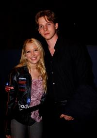Courtney Peldon and Stark Sands at the Hollywood Film Festival screening of