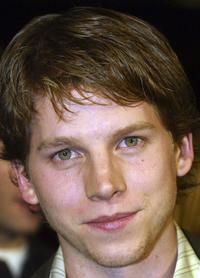 Stark Sands at the premiere of