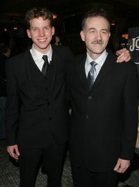 Stark Sands and Boyd Gaines at the after party of the opening night of
