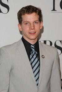 Stark Sands at the 2007 Tony Awards nominees press reception.