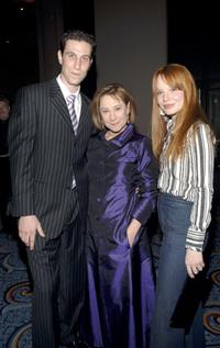 Pablo Schreiber, Zoe Wanamaker and Lauren Ambrose at the opening of the Lincoln Center Theater.