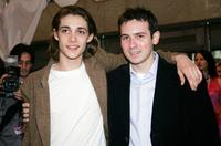 Ryan Donowhoand Dan Harris at the gala screening of
