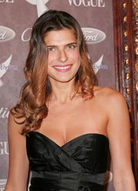 Lake Bell at the Heaven: Celebrating 10 Years event benefiting the Art Elysium.