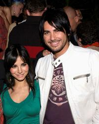 Martha Higareda and Beto Cuevas at the Lions Gate International AFM Cocktail Party.