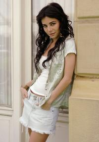 Martha Higareda at the promotion of