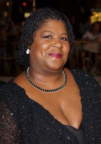 Cleo King at the premiere of