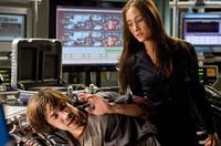 Deadly operative Mai (Maggie Q) threatens beleaguered hacker Matt Farrell (Justin Long) in