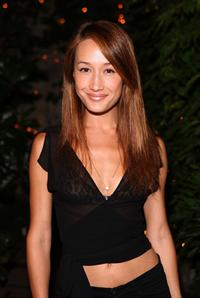 Maggie Q at the Much Love's BOW WOW WOW Animal Rescue Benefit.