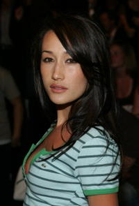 Maggie Q at the Lacoste Spring 2006 show