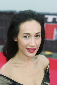 Maggie Q at the Japan premiere  of