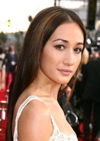 Maggie Q at a fan screening of