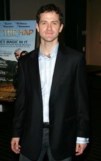 Jim True-Frost at the premiere of