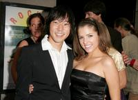 Aaron Yoo and Anna Kendrick at the New York premiere of