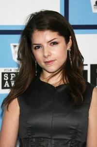 Anna Kendrick at the 2008 Film Independent's Spirit Awards.