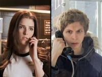 Anna Kendrick as Stacey Pilgrim and Michael Cera as Scott Pilgrim in