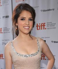Anna Kendrick at the Toronto premiere of