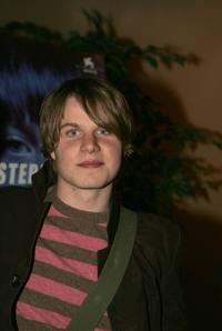 Brady Corbet at the party for
