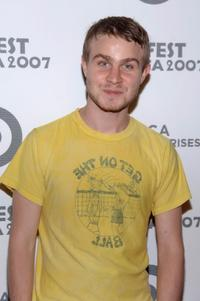 Brady Corbet at the Tropfest Tribeca presented by Target.