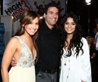Ashley Tisdale, Guest and Vanessa Hudgens at the premiere of