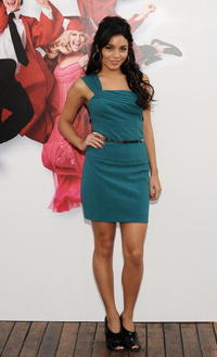 Vanessa Hudgens at the photocall of