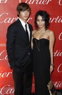 Zac Efron and Vanessa Hudgens at the 2008 Palm Springs International Film Festival Awards Gala.